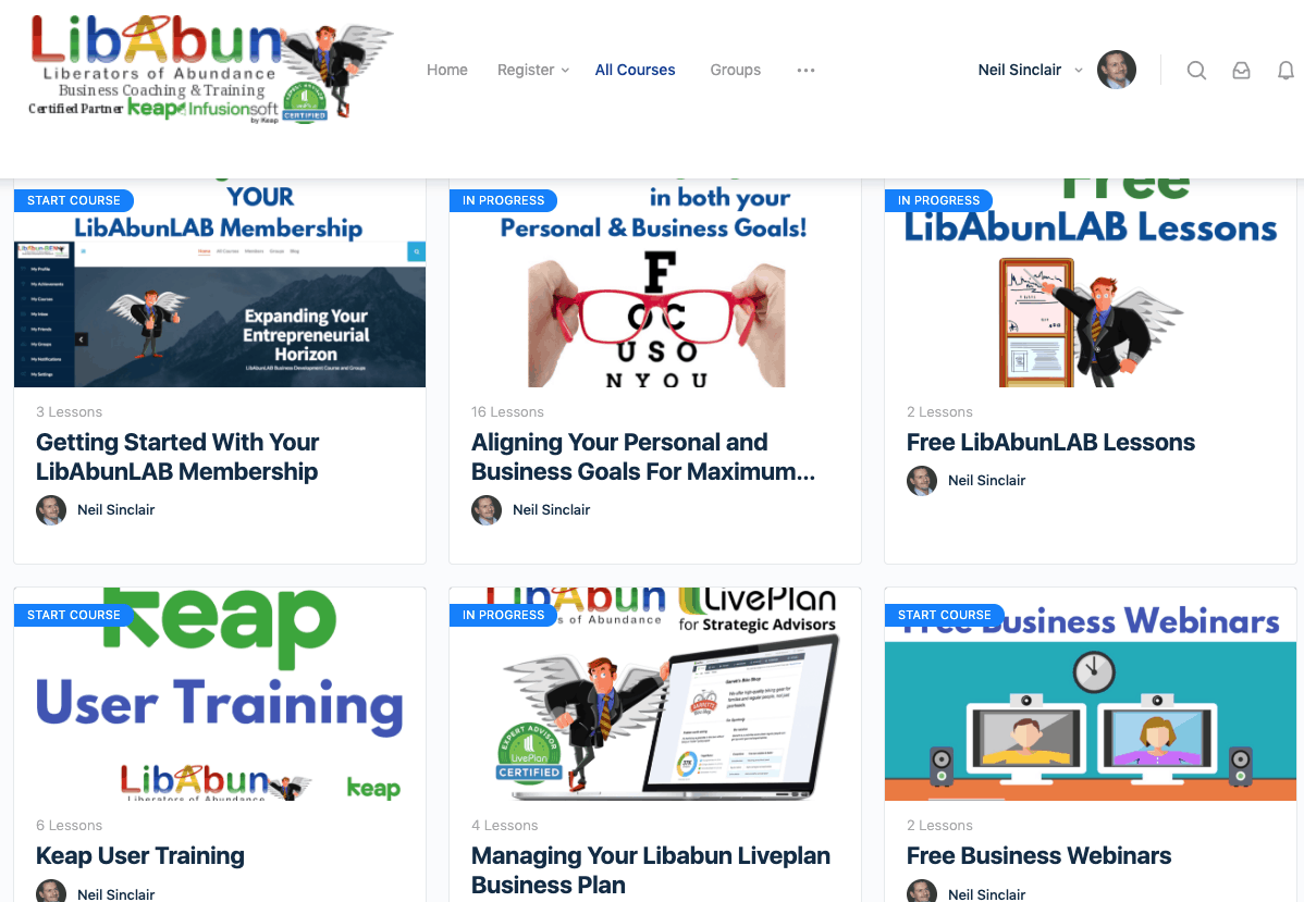 Libabunlab Membership site