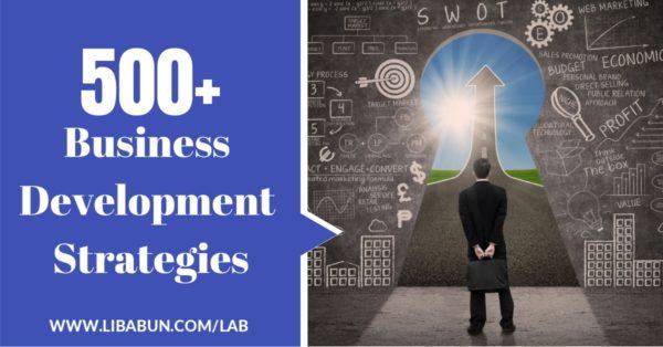 500+ Business Development Strategies
