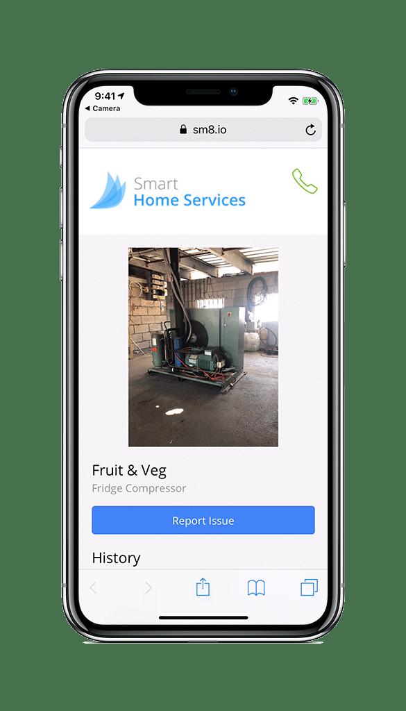 iPhone-X-client-portal