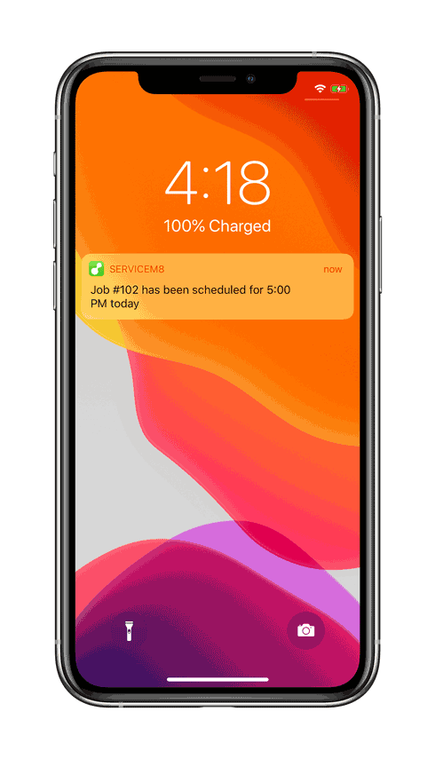 iPhone-11-Pro-Scheduling-notification-