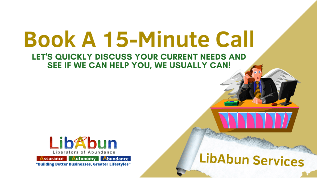 Book A 15-minute Call Services